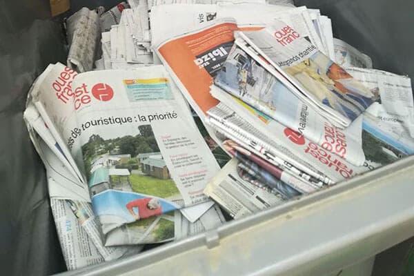 recyclage-journaux